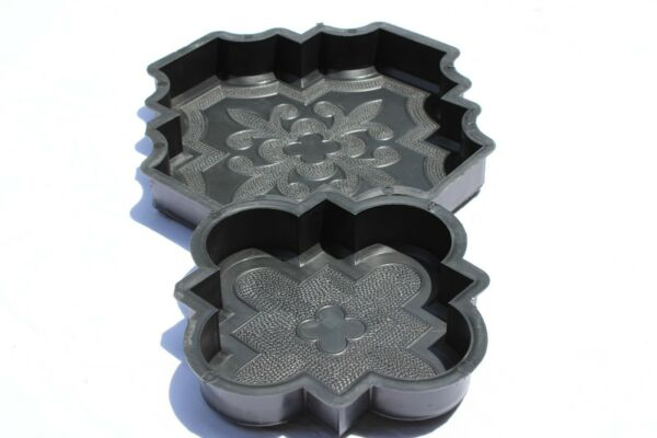 Plastic Mold Form For Beautiful Concrete Paver Stones For Patio And Garden NEW $23.99