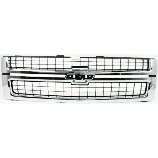 New Grille Grill for Chevy Chevrolet Silverado 2500 HD 3500 GM1200608 25825521