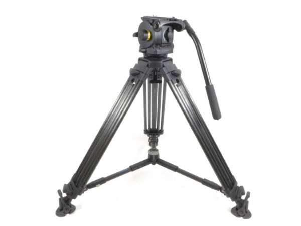 Vinten Vision 100 Fluid Head Tripod Carbon Fiber Legs - 100mm Mid Level