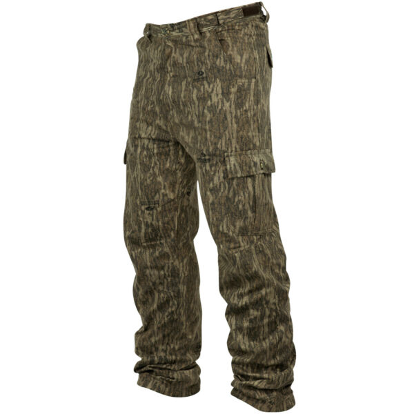 Mossy Oak Mens Chamois Camo Hunt Pants