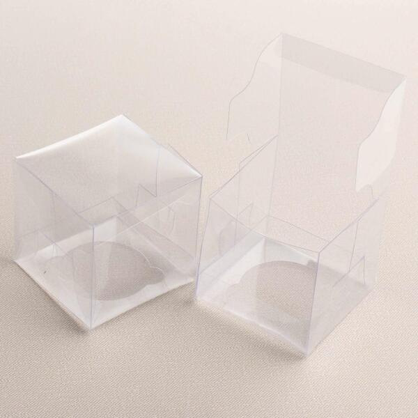 Victoria Lynn Clear Single Cupcake Boxes 12 Count