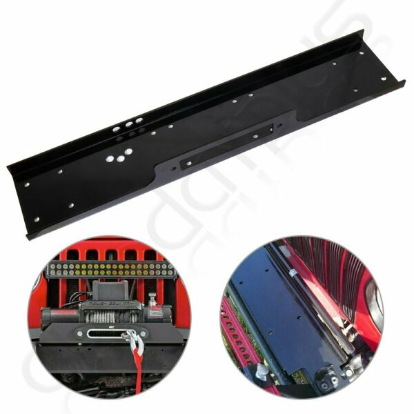 36quot; Universal Recovery Winch Mounting Plate 13000lb Mount Bracket Truck Trailer $50.39
