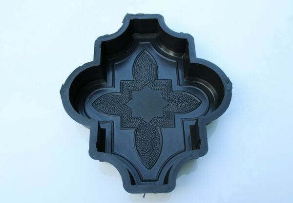 Plastic Mold Form To Make Beautiful Concrete Paver Stones For Patio And Garden $17.00