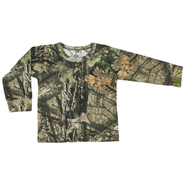Mossy Oak Toddler Long Sleeve Camo Tee