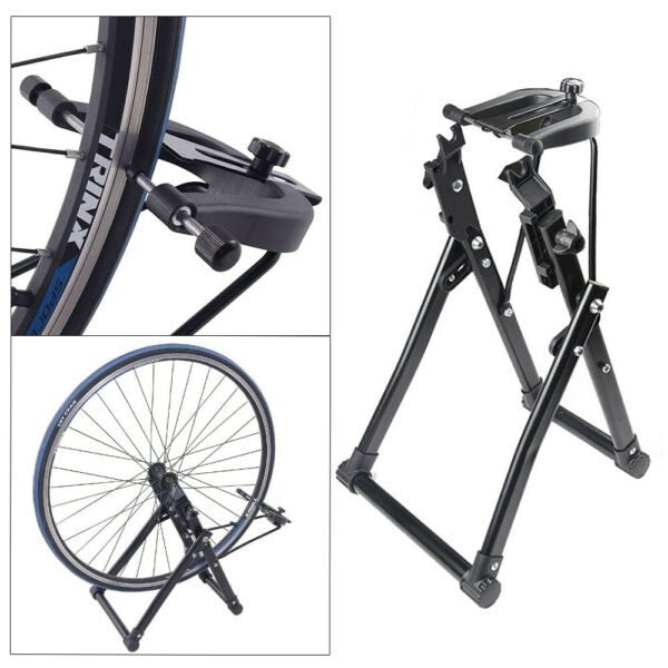Bike Wheel Truing Stand Bicycle Wheel Maintenance Fits 16quot; 29quot; 700C Wheels US $36.58