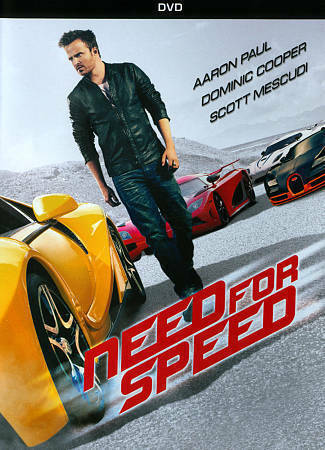 Need For Speed Dvd New