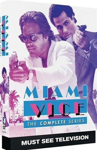 MIAMI VICE THE COMPLETE SERIES New Sealed 20 DVD Set Seasons 1 2 3 4 5