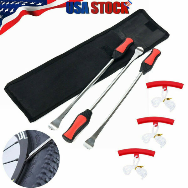 Tire Spoons Lever Iron Tool Kit Motorcycle Bike Professional Tire Change Kit Rim
