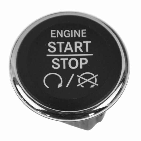 Ignition Start Switch Dash Mount Push Button for Chrysler Dodge Jeep Mopar