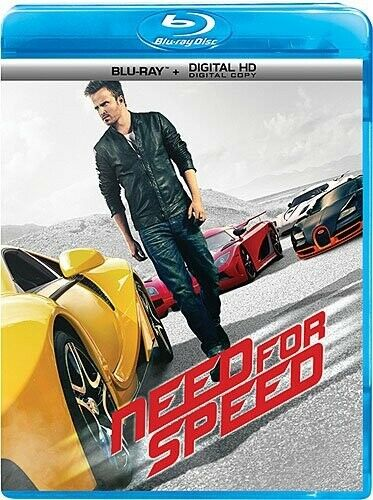 NEED FOR SPEED New Sealed Blu ray