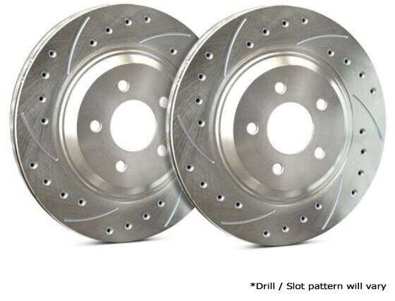 SP Performance Rear Rotors for 2017 X5 XDrive50i Drilled Slotted F06 990 P5899