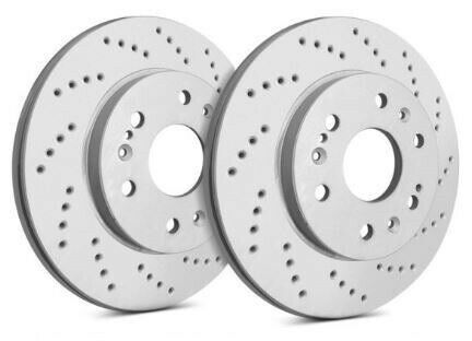 SP Performance Front Rotors for 2017 X5 XDrive50i Drilled w ZRC C06 4099542