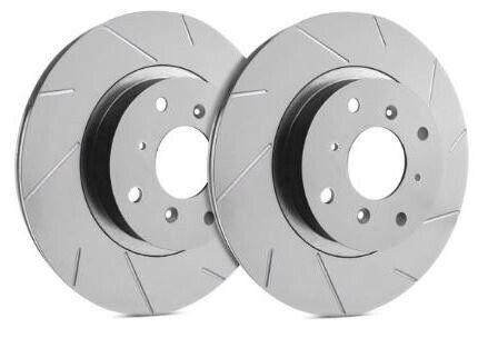 SP Performance Rear Rotors for 2017 X5 XDrive35D Slotted w ZRC T06 3638820