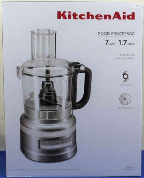KitchenAid KFP0718CU 7-Cup Food Processor Chop, Puree, Shred and Slice NEW
