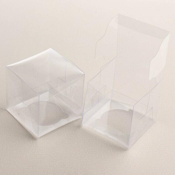 2 Pack Victoria Lynn Clear Single Cupcake Boxes 12 Count