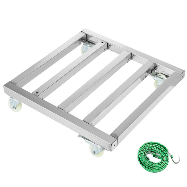 Furniture Mover Dolly Stainless Steel Moving Dolly 24x24 inch $72.98