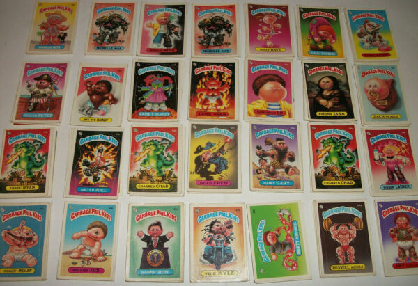 Garbage Pail Kids GPK 1980's Cards MISC Lot x10 Series 2-12 Good Condition Funny