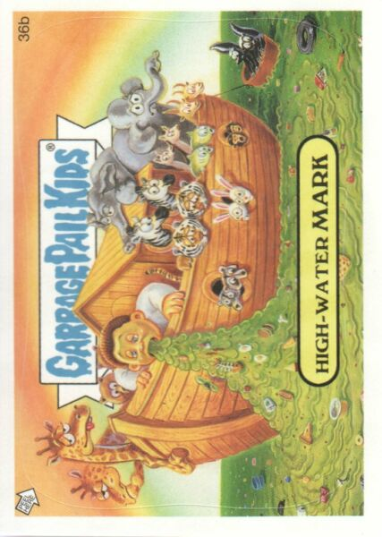 2005 Garbage Pail Kids All-New Series 4 #36b High-Water Mark