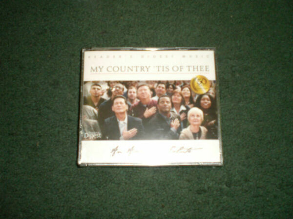 SHENANDOAMY COUNTRY 'TIS OF THEE 4 CD SET 75 SONGS NEW SEALED VARIOUS ARTIST