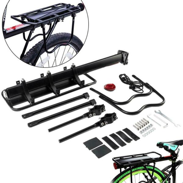 Bicycle Carrier Rear Rack Fender Luggage Rack Seat Quick Release Metal Pannier