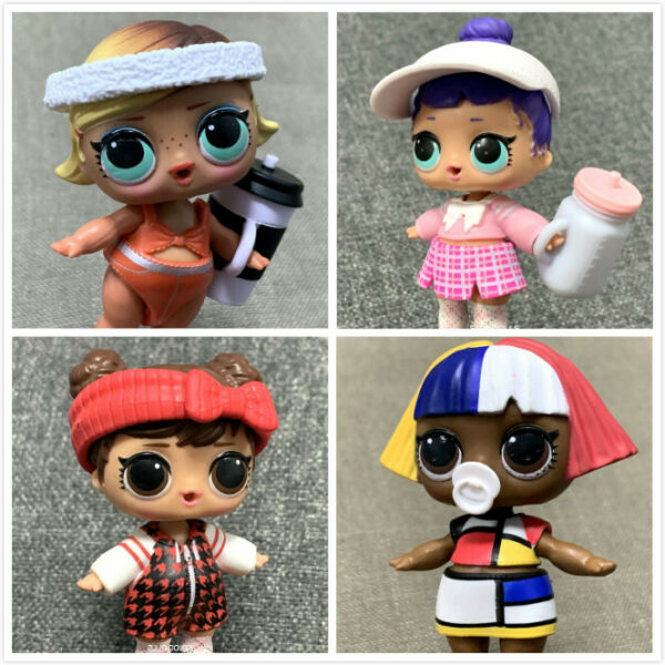 4x LOL Surprise Doll CADDY QT CADDIE SHAPES Babe in the Woods BOOGIE BABE Toys