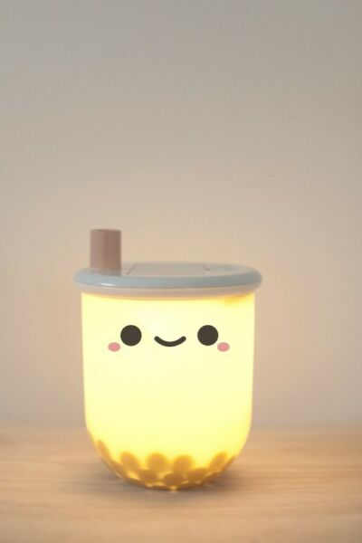 Lamp - Night Light - Boba Tea - Smoko