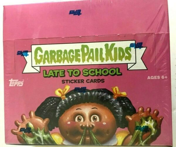 2020 TOPPS GARBAGE PAIL KIDS LATE TO SCHOOL STICKER CARD BOX