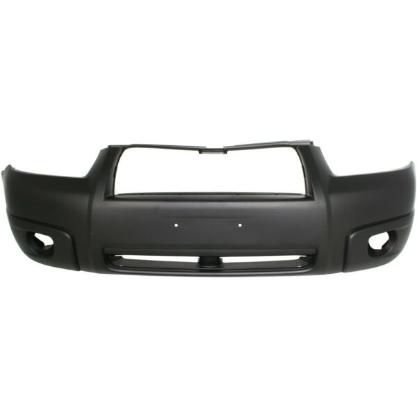 Front Bumper Cover For 2006 2008 Subaru Forester w fog lamp holes Primed