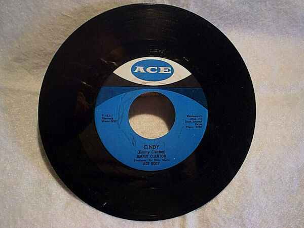 1963 JIMMY CLANTON-Cindy I Care Enough 45ace label 8007produced by billy mure