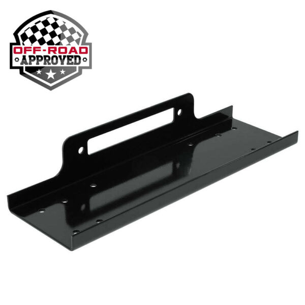 Universal Recovery Winch Mounting Plate Mount Bracket for Truck Trailer SUV 4WD $52.99