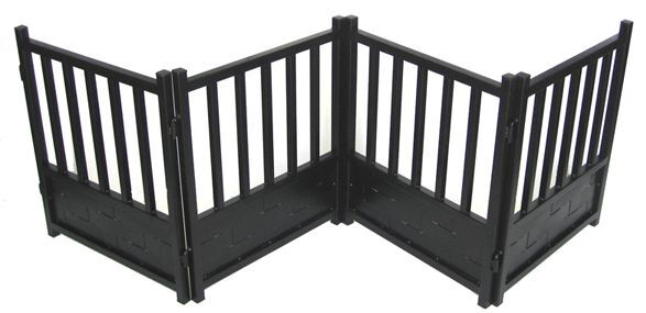 Free Standing X Wide Indoor Dog amp; Pet Expandable Metal Safety Gate Black $229.99