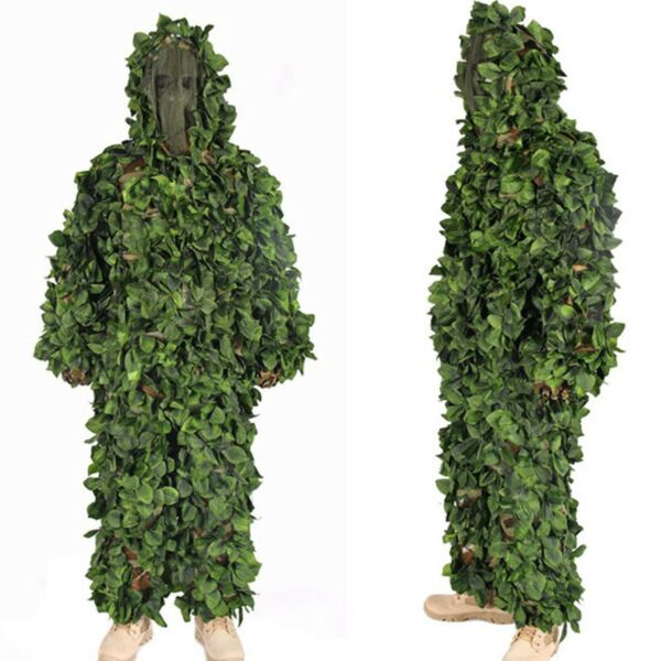 Jungle Camouflage Ghillie Suits Hunting Sniper Tactical Military Costume ly01