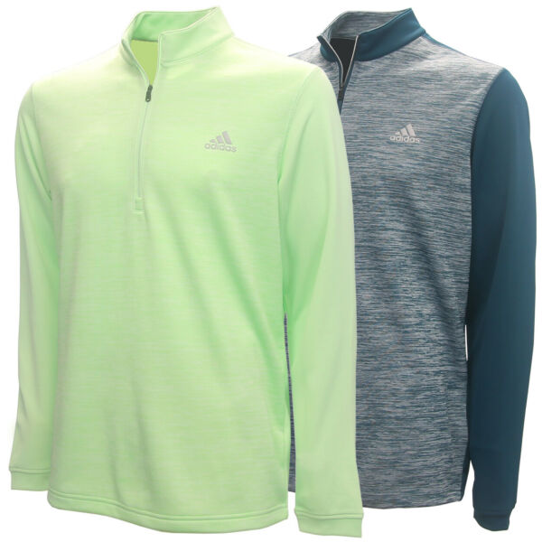 Adidas Golf Men#x27;s Adi Core 1 4 Zip Lightweight Pullover Brand New