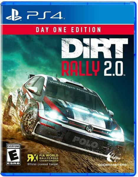 PLAYSTATION 4 PS4 VIDEO GAME DIRT RALLY 2.0 DAY ONE EDITION BRAND NEW AND SEALED $21.74