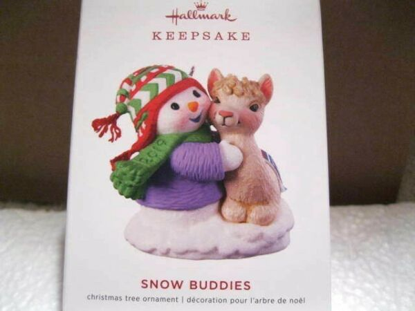2019 Hallmark SNOW BUDDIES #22 IN THE SERIES Snowman with Fawn
