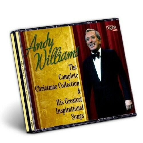 CD ANDY WILLIAMS Complete Christmas Collection & His Greatest Inspirational Song