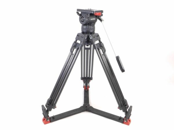Sachtler Video 15 Plus 15P Head Carbon Fiber Tripod 15Plus 100mm