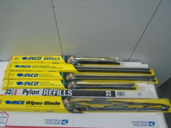 ANCO WIPER REFILL AND BLADE SUPER BUNDLE 5PK REFILLS AND 1 BLADE