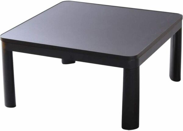 Kotatsu Table Heater 75cm Casual 30inch Iris Ohyama Square Black PKC 75S B