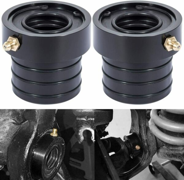 MG21103 Dana 30/44 Front Axle Tube Seal Pair for Jeep JK TJ XJ ZJ MJ 2PCS Black