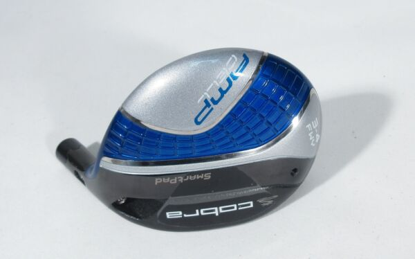 Tour Issue! NEW COBRA AMP CELL (Small Head) BLUE 3-4 FAIRWAY WOOD -Head- RARE!