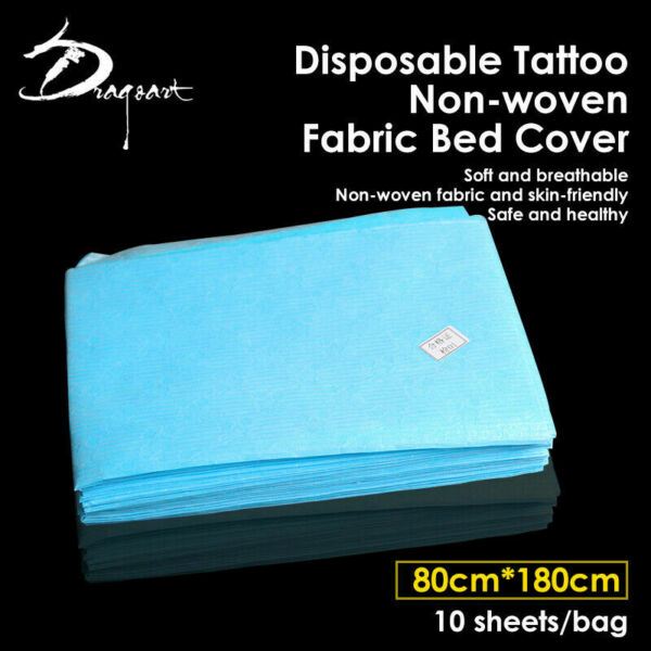 10 PCS Disposable Waterproof Non Woven Fabric Bed Cover Massage Beauty Sheet $15.97