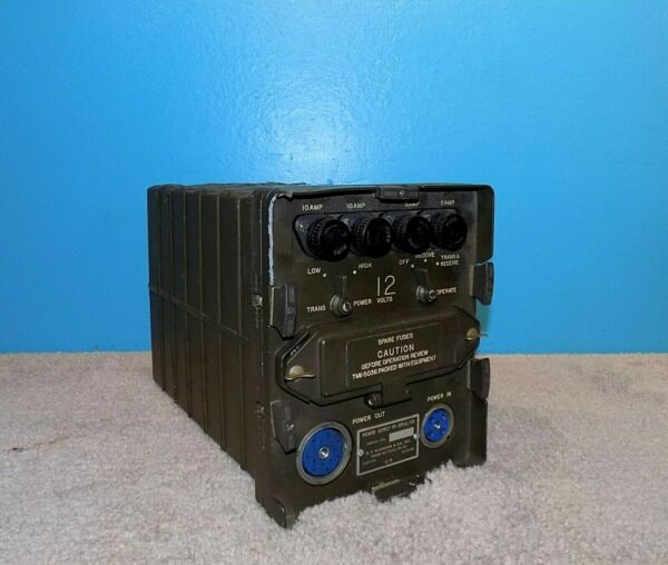 Power Supply PP 109 A GR US Military for TR 68 RT 66 RT 67 Free Shipping