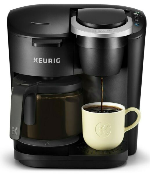 Keurig K Duo Essentials Coffee Maker Single K Cup Pod amp; 12 Cup Brewer 2DayShip