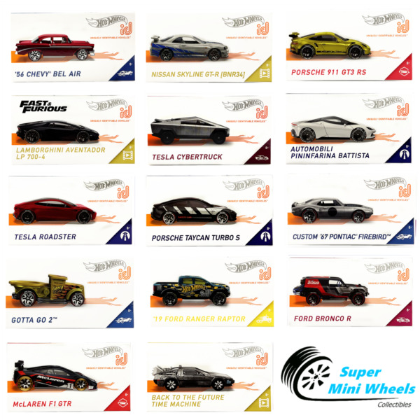 Hot Wheels ID Cars 2020 New Update to 9 8 2020 $14.99