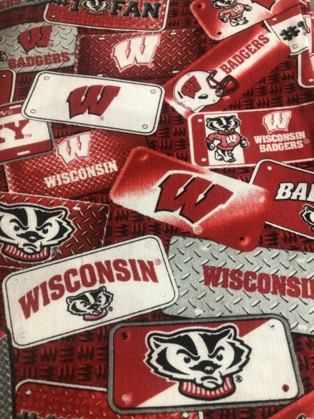 University Of Wisconsin Badgers Face Mask