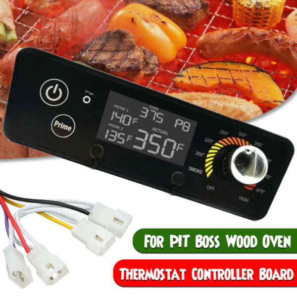 Digital Thermostat Control Board For Pit For Boss Wood Oven Grills BBQ W LCD $38.37