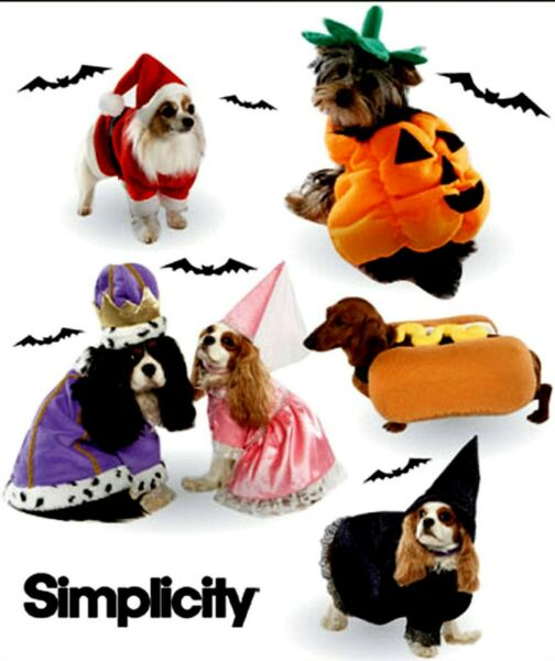 WOW HOT DOG PRINCESS PRINCE WITCH SANTA COSTUMES SEWING PATTERN Simplicity 3952 $6.99