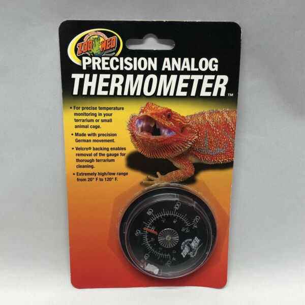 Zoo Med Analog Reptile Thermometer. **Free Shipping**