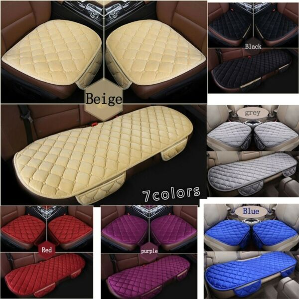 Universal Front Rear Car Seat Cover Breathable Plush Pad Mat Auto Chair Cushion $7.99